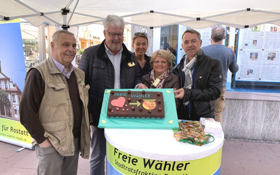 Freie Wähler am Marktplatz