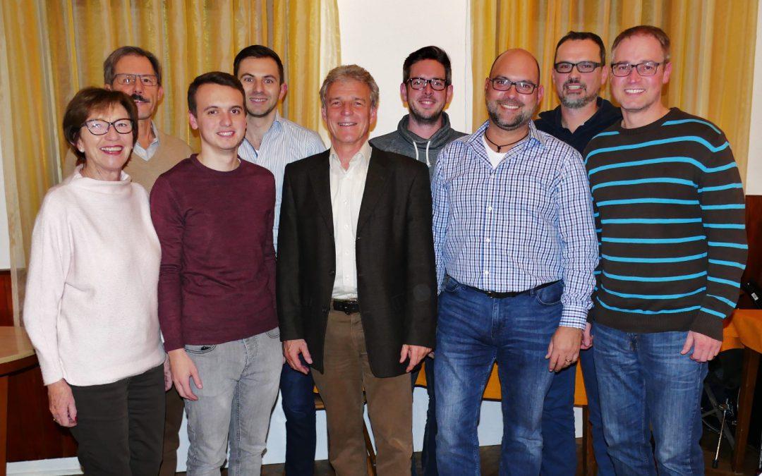 Freie Wähler küren die Kandidaten für den Niederbühler Ortschaftsrat