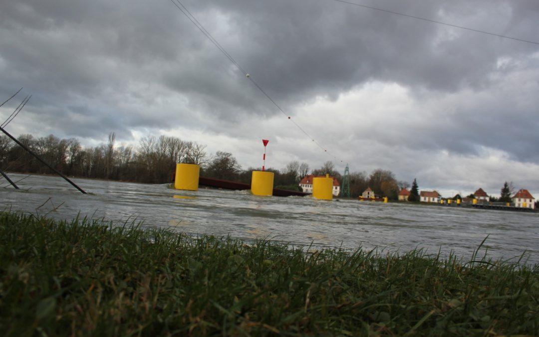 """Das Thema """"Hochwasserschutz an Rhein und Murg"""" soll auf die Tagesordnung des Gemeinderates genommen werden."""